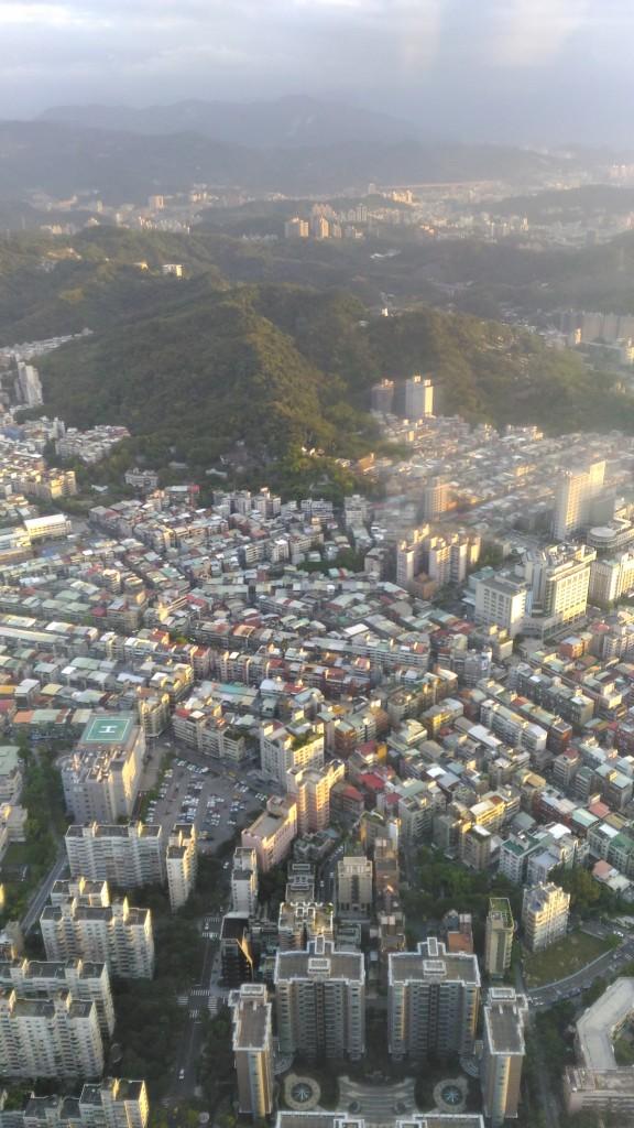 Vue de Taipei 101